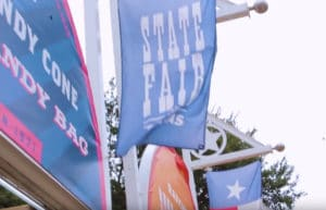 banner showing the state fair of texas