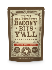 bacony bits by plant based snack company