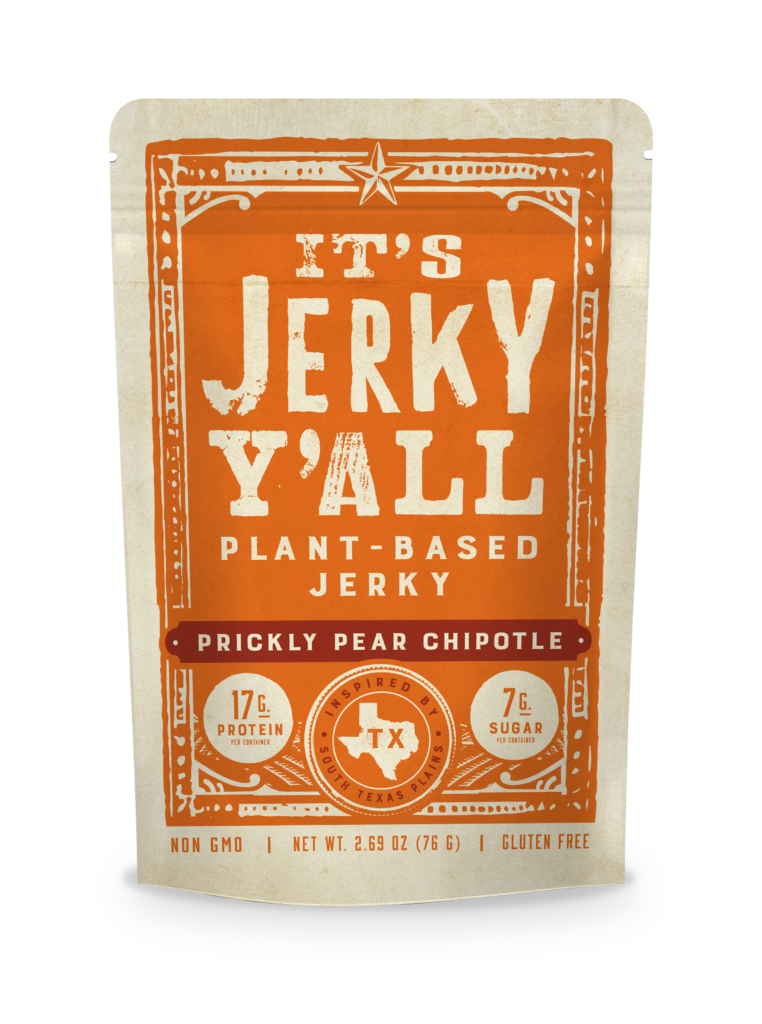 prickly pear plant based jerky chipotle flavor