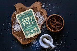 its plant-based jerky y'all